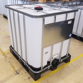 "Werit IBC IBC UN-Container 1000 l 3"" auf Kunststoff-Palette"