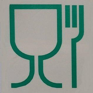 Werit IBC IBC Tank für zähflüssige Lebensmittel NEU 1000 Liter auf Kunststoff- Palette #6VP-TOP3W20-NEU-REGEN-USER