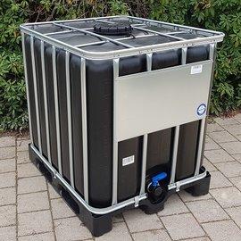 IBC Tank NEU 1000 l SCHWARZ für Trinkwasser