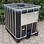 Werit IBC IBC Container NEU 1000 Liter mit UV Schutz für Trinkwasser auf Kunststoff-Palette #64VP-TOP3W20-NEU-REGEN-USER