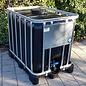 Werit IBC IBC 600 Liter Tank mit UV-Schutz auf Kunststoff-Palette #94VP-TOP3W20-NEU-REGEN-USER