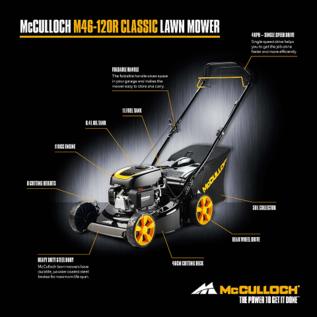 McCulloch B-Rasenmäher selbstfahrend McCulloch M46-120R #MC-M46-120R-REGEN-USER