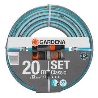 Gardena Classic 13 mm Schlauch-Set (1/2-Zoll) 20 m #Gardena-18008-20-REGEN-USER