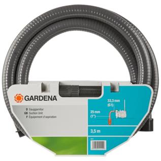 Gardena 3,5 m Sauggarnitur mit 25 mm (1-Zoll) Saugschlauch #Gardena-1411-20-REGEN-USER