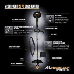 McCulloch Benzin Trimmer Motorsense McCulloch B26 PS #MC-B26-PS-REGEN-USER
