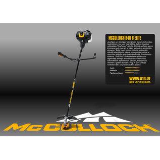 McCulloch Benzin Motorsense Freischneider McCulloch B40 B ELITE #MC-B40-B-ELITE-REGEN-USER