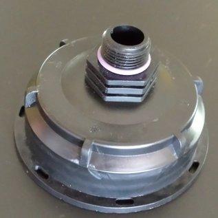 IBC Wassertank S100X8 3-Zoll Auslauf Adapter mit 1/2-Zoll Aussengewinde #Z1312-REGEN-USER