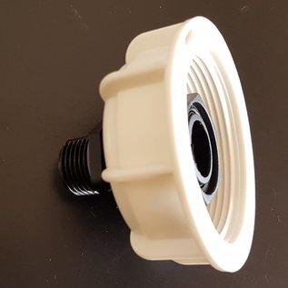 IBC FEINGEWINDE 58 mm mit Überwurfmutter auf 1/2 Zoll Aussengewinde #FOS1315-REGEN-USER