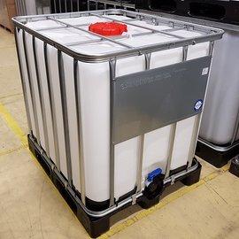 Werit IBC IBC Gefahrgut-Container 1000l auf Kunststoff-Palette