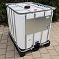 Werit IBC IBC Container für AdBlue 1000 Liter gebraucht auf Kunststoff-Palette #6VP-AB-W-GEB-REGEN-USER