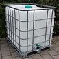 Schütz IBC IBC Dachwassersammler 1000 Liter exFood auf verzinkter Stahlpalette #2M-exFood-REGEN-USER
