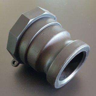 IBC Kamlok Adapter Stecker 2-Zoll (Vaterteil) für 2-Zoll Feingewinde #FC05-REGEN-USER