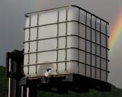 IBC Regenwassertank 1000 Liter REGEN-USER THUR