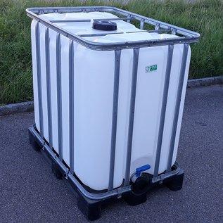 Werit IBC Trinkwassertank IBC 800 Liter NEU (mit neuer Blase) auf Kunststoff-Palette lebensmittelecht #981VP-W16-ECO-REGEN-USER