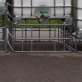 Schütz IBC IBC Schütz Gitter breit (100 cm) gebraucht, 47 cm höher stellen #1Schütz-47-REGEN-USER