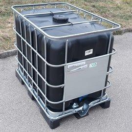 IBC TANK SCHWARZ 600 l-640 l NEU mit UV-Schutz