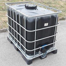 IBC Tank SCHWARZ 600l / 640l für Trinkwasser TOP