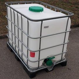 Schütz IBC IBC Tank 640 l für Trinkwasser & Lebensmittel TOP