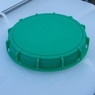 Schütz IBC IBC Container 640 Liter für Lebensmittel auf Stahl-Kunststoffpalette #I9MVP-TOP-REGEN-USER