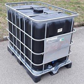 IBC Tank SCHWARZ 600l-640l für Trinkwasser ECO