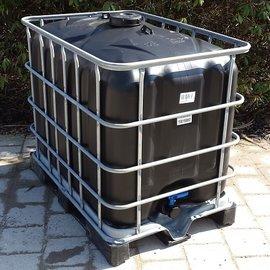 IBC Tank SCHWARZ 600l / 640l für Trinkwasser ECO