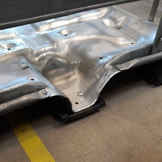 Schütz IBC IBC Regenwassertank 640 Liter mit grossem Deckel und 3-Zoll auf Stahl-Kunststoff-Palette #8GMVP3-ExFood-REGEN-USER
