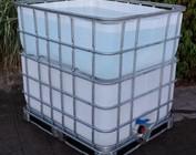 Regenwasser- Sammler und Tank
