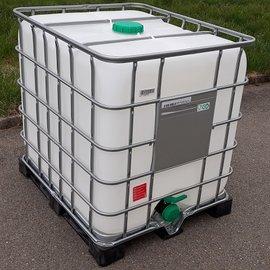 Schütz IBC IBC Tank für Food NEU 1000 l auf Metall-Kunststoff
