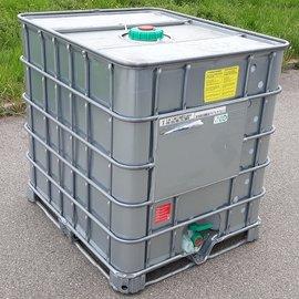 IBC Wasser-Container VERZINKT 1000l auf Stahl
