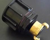 Auslaufadapter mit GEKA-System