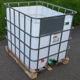 Greif IBC IBC Fass offen 1000l NEU Trinkwasser auf Holzp.