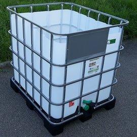 HESS DESIGN IBC Trinkwasser-Becken 1000l NEU auf Kunststoffp.