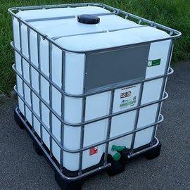 Greif IBC IBC Tank für Food NEU 1000l auf Kunststoffp.