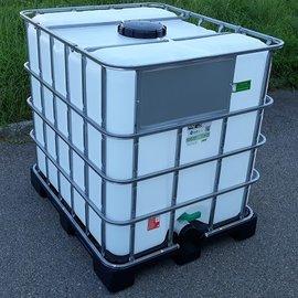 Greif IBC IBC 1000 l NEU für Food zähflüssig auf Kunststoff