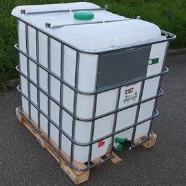 Greif IBC IBC Container für Futter 1000l NEU auf Holz-P