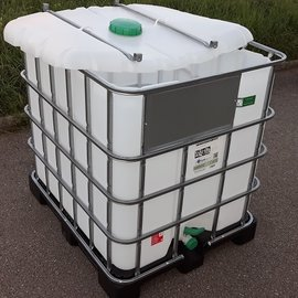 HESS DESIGN IBC Schüttgut Container 1000l NEU auf Kunststoff-P.