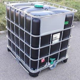 Greif IBC IBC Trinkwasser-Tank 1000 l NEU SCHWARZ auf MPE