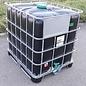Greif IBC IBC Container 1000 Liter NEU für Trinkwasser-Lagerung auf Stahl-Kunststoff-Palette #64MPE-GC-NEU-REGEN-USER