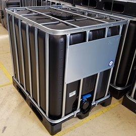Werit IBC IBC Tank 1000l Trinkwasser SCHWARZ NEU auf Kunststoff