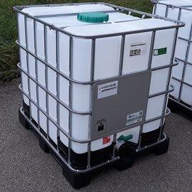 Greif IBC IBC Gefahrgut-Container 1000l & FDA auf Kunststoff-Palette