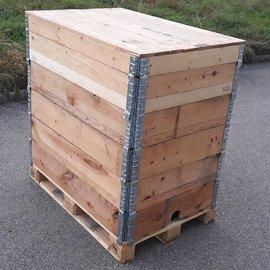 HESS DESIGN Holz-Wassertank 800l - 820l IBC NEU für Trinkwasser