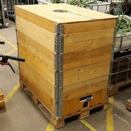 HESS DESIGN Tank mit Holzverkleidung 800l - 820l IBC NEU für Trinkwasser
