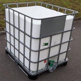 HESS DESIGN IBC Wassertank weiss offen 1000 l NEU auf MPE
