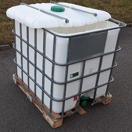 HESS DESIGN IBC Container weiss für Futter 1000l NEU auf Holz