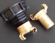 IBC Auslauf Adapter mit GEKA-System