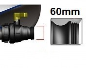 für Feingewinde 60mm