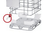 IBC Container Auslauftülle