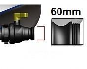 mit Feingewinde 60mm