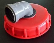 IBC Tank Einlauf / Deckelanschluss