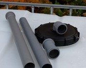 225mm Deckel mit Regenwasserfilter